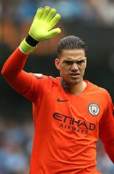 Manchester City goalkeeper Ederson