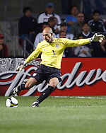 The U.S. Men's National Team defeated Trinidad & Tobago 3-0 at Toyota Park in Bridgeview, IL on September 10, 2008.