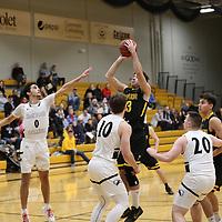 Men's Basketball: University of Wisconsin-Superior Yellowjackets vs. Edgewood College Eagles