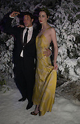 """Duncan James; Erin O'Connor. Royal Film Performance and World Premiere of """"The Chronicles Of Narnia"""" at the Royal Albert Hall. London and after-party in Kensington Gardens. 7 December  2005.ONE TIME USE ONLY - DO NOT ARCHIVE  © Copyright Photograph by Dafydd Jones 66 Stockwell Park Rd. London SW9 0DA Tel 020 7733 0108 www.dafjones.com"""