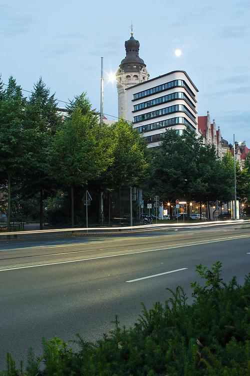 TRIAS-Hochhaus Leipzig , Architekt: schulz & schulz , Fertigstellung: 2014 , freie Arbeit