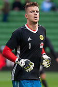 MELBOURNE, VIC - NOVEMBER 09: Wellington Phoenix goalkeeper Filip Kurto (1) walks towards the bench during warm up at the Hyundai A-League Round 4 soccer match between Melbourne City FC and Wellington Phoenix on November 09, 2018 at AAMI Park in Melbourne, Australia. (Photo by Speed Media/Icon Sportswire)