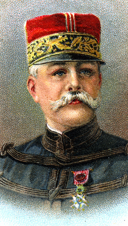 Maurice Sarrail (1856-1929) French General in World War I.