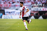 BUENOS AIRES, ARGENTINA - 2017 NOVEMBER 05. River Plate (20) Milton Casco during the superliga Argentina match between River Plate and Boca Juniors at Estadio El Monumental,  <br /> ( Photo by Sebastian Frej )
