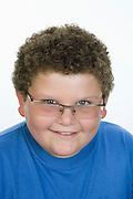 Smiling Pre-Teen Boy