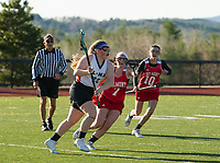Interlakes/Moultonboro versus Belmont girls varsity lacrosse.  Karen Bobotas for the Laconia Daily Sun