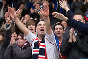 Standing ovation for Dundee at full time - Stirling Albion v Dundee, IRN BRU Scottish League 1st Division, Forthbank Stadium, Stirling<br /> <br />  - © David Young<br /> ---<br /> email: david@davidyoungphoto.co.uk<br /> http://www.davidyoungphoto.co.uk