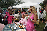 Cindy Jackson,, Ivana Trump and Liza Tchenguiz, Royal Ascot Race Meeting. Wednesday 21 June 2006. ONE TIME USE ONLY - DO NOT ARCHIVE  © Copyright Photograph by Dafydd Jones 66 Stockwell Park Rd. London SW9 0DA Tel 020 7733 0108 www.dafjones.com