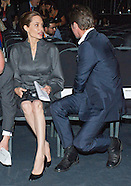 Angelina Jolie & Brad Pitt Attend ESVC Summit, London2