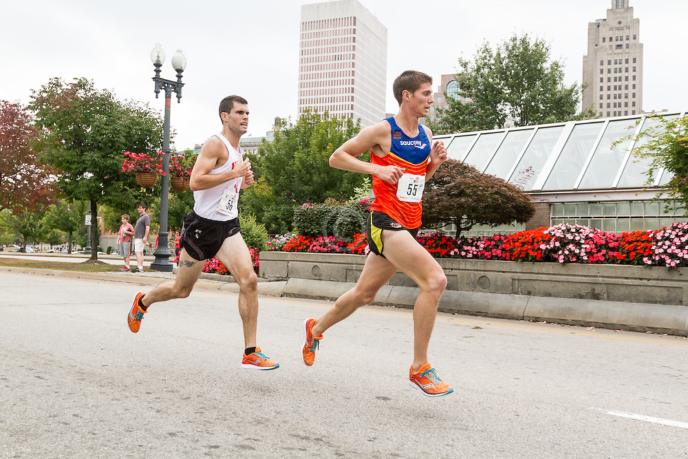 CVS Health Downtown 5k, USA 5k road championship, Finan (55), Forys (56), quarter to go