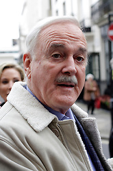John Cleese at Mosimanns restaurant,  London, United Kingdom. Sunday, 24th November 2013. Picture by Mike Webster / i-Images