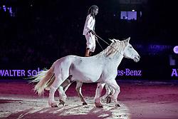 Samuel HAFRAD<br /> Stuttgart - German Masters 2019<br /> Freiheit & Trickreiten<br /> Großer Showabend<br /> 13. November 2019<br /> © www.sportfotos-lafrentz.de/Stefan Lafrentz