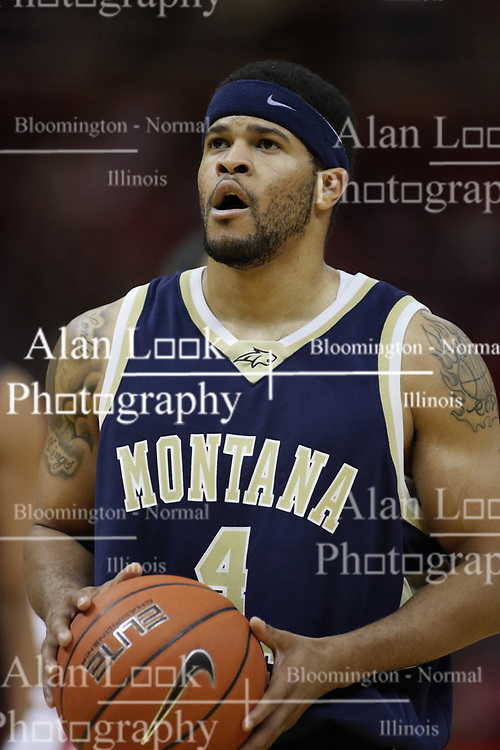 04 December 2010: Rod Singleton during an NCAA basketball game between the Montana State Bobcats and the Illinois State Redbirds at Redbird Arena in Normal Illinois.