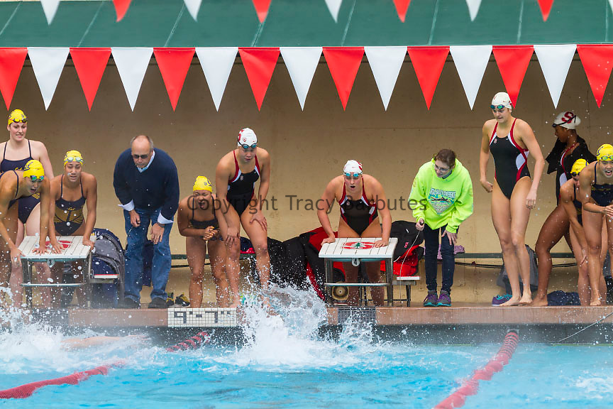 Stanford University Women 39 S Swim Team Relay Tracy Barbutes