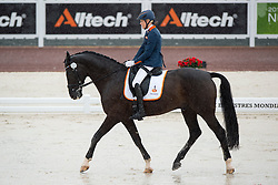 Nicole den Dulk, (NED), Wallace - Team Competition Grade Ib Para Dressage - Alltech FEI World Equestrian Games™ 2014 - Normandy, France.<br /> © Hippo Foto Team - Jon Stroud <br /> 25/06/14