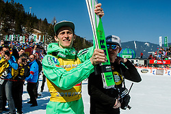 Peter Prevc (SLO) after medal and trophy ceremony at the Ski Flying Hill Individual Competition at Day 4 of FIS Ski Jumping World Cup Final 2016, on March 20, 2016 in Planica, Slovenia. Photo by Grega Valancic / Sportida