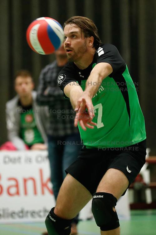 20161126 NED: Beker, Sliedrecht Sport - Pelster Cito: Sliedrecht <br />Thijs Pietersen<br />©2016-FotoHoogendoorn.nl / Pim Waslander