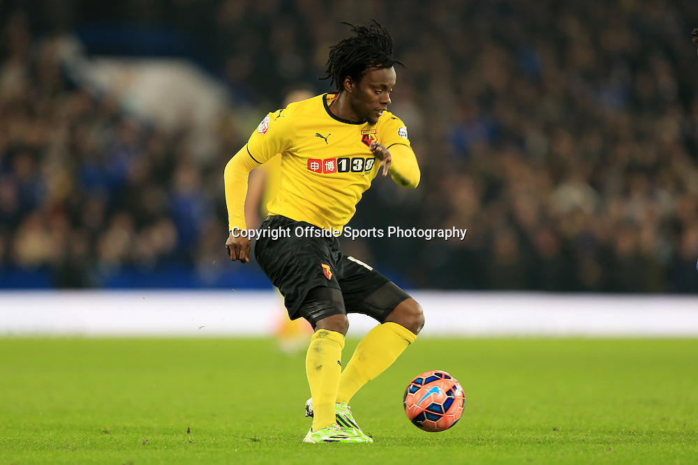 4 January 2015 - The FA Cup 3rd Round - Chelsea v Watford - Juan Carlos Paredes of Watford - Photo: Marc Atkins / Offside.