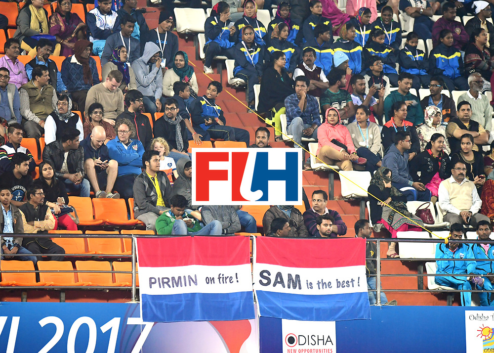 Odisha Men's Hockey World League Final Bhubaneswar 2017<br /> Match id:08<br /> Netherlands v Argentina<br /> Foto: Fans<br /> WORLDSPORTPICS COPYRIGHT FRANK UIJLENBROEK