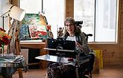 Gillette patient Kari Wagner sits for a portrait in Golden Valley, Minnesota, Wednesday, Jan. 15, 2020.