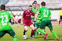 MatejPoplatnik of NK Triglav Kranj during football match between NK Triglav Kranj and NK Krskoi in Round #29 of Prva Liga Telekom Slovenije 2017/18, on May 2, 2018 in Sports park Kranj, Kranj, Slovenia. Photo by Ziga Zupan / Sportida