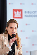 Warsaw, Poland - 2017 April 07: Agnieszka Prusinska - head of physiotherapist team at Rehasport speaks while The Day of Health - science conference in the National Library on April 07, 2017 in Warsaw, Poland.<br /> <br /> Mandatory credit:<br /> Photo by © © Adam Nurkiewicz / Mediasport / Mediasport<br /> <br /> Picture also available in RAW (NEF) or TIFF format on special request.<br /> <br /> Any editorial, commercial or promotional use requires written permission from the author of image.<br /> <br /> Adam Nurkiewicz declares that he has no rights to the image of people at the photographs of his authorship.