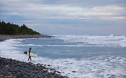 Surfing at Donghe, Taidong