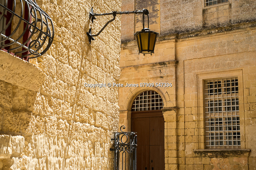Street in Mdina, Rabat, <br />