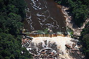 Waterfalls<br /> Kurupung River<br /> Pakaraima Mountains<br /> GUYANA<br /> South America