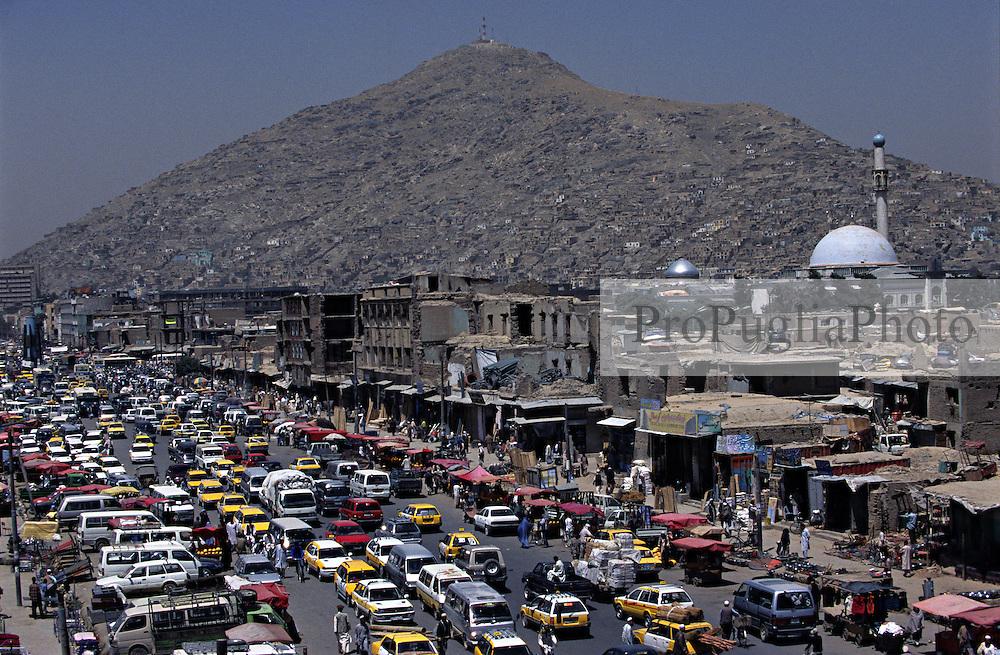 Locall traffic in Jada Mawand