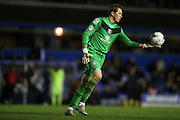 Tomasz Kuszczak during the Sky Bet Championship match between Birmingham City and Brighton and Hove Albion at St Andrews, Birmingham, England on 5 April 2016.