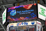 KELOWNA, CANADA - MARCH 14:  Trail Appliances at the Kelowna Rockets game on March 14, 2018 at Prospera Place in Kelowna, British Columbia, Canada.  (Photo By Cindy Rogers/Nyasa Photography,  *** Local Caption ***