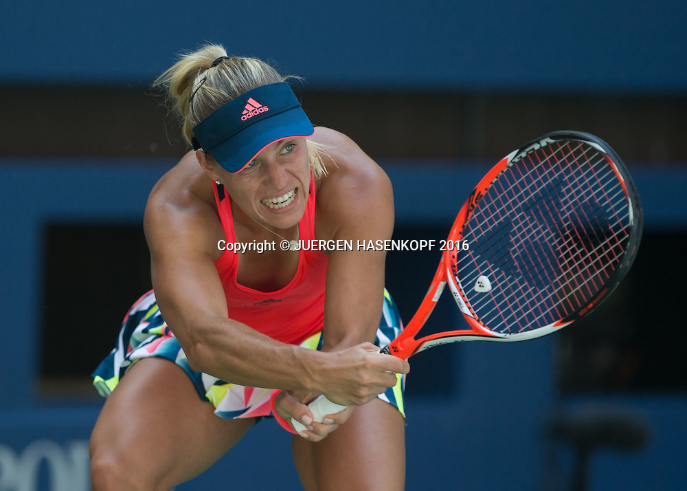 ANGELIQUE KERBER (GER)<br /> <br /> Tennis - US Open 2016 - Grand Slam ITF / ATP / WTA -  Flushing Meadows - New York - New York - USA  - 29 August 2016.