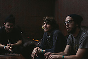 Interview photos with the band Bear In Heaven before their Tomorrow Never Knows Fest 2013 show at Schubas in Chicago, IL