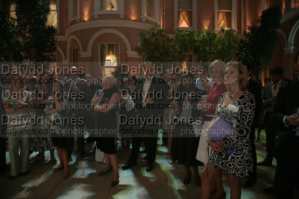 Anahita Resort launch party. Wallace Collection. London. 12 September 2007. ( Photo by Dafydd Jones)  Listening to the Speeches -DO NOT ARCHIVE-© Copyright Photograph by Dafydd Jones. 248 Clapham Rd. London SW9 0PZ. Tel 0207 820 0771. www.dafjones.com.