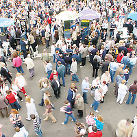 1 August 2006; The crowed during the second day of the Galway Races, Ballybrit, Co. Galway. Picture credit; Matt Browne / SPORTSFILE