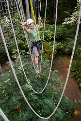 North America, United States, Bellevue, Discovery Challenge Course.  MR
