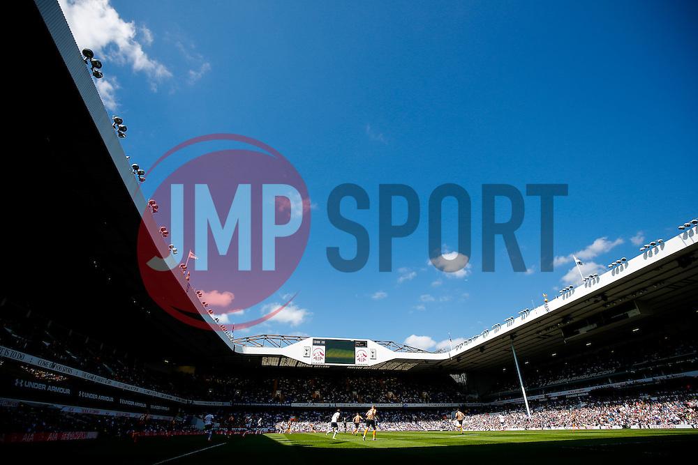 General View as the match gets underway - Photo mandatory by-line: Rogan Thomson/JMP - 07966 386802 - 16/05/2015 - SPORT - FOOTBALL - London, England - White Hart Lane - Tottenham Hotspur v Hull City - Barclays Premier League.