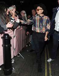Lady Gaga out and about in London, UK. 05/12/2013<br />BYLINE MUST READ : GOTCHAIMAGES.COM<br /><br />Copyright by © Gotcha Images Ltd. All rights reserved.<br />Usage of this image is conditional upon the acceptance <br />of Gotcha Images Ltd, terms and conditions available at<br />www.gotchaimages.com