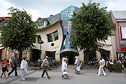 Poland Eastern Pomerania Sopot Crooked House Rezydent Shopping Centre Architect.Szotynscy Zaleski