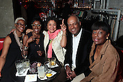 28 April 2011- New York,  NY- Sheryl Bradley, Courtney Sloane, Gwen Hankin, Hankin, Noel Hankin and Joyce Jackson at The Sparkling Celebration for the Birthday of Harriette Cole held at the Galapagos Art Space on April 27, 2011 in Brooklyn, NY Photo Credit: Terrence Jennings
