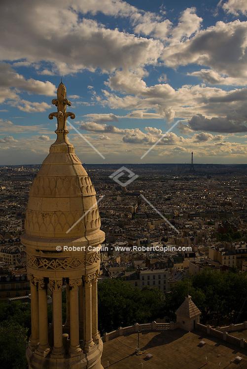 Sacre Coeur dome in Paris, France.<br /> <br /> <br /> (Photo by Robert Caplin)