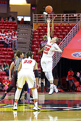 29 January 2017: Hannah Green during an College Missouri Valley Conference Women's Basketball game between Illinois State University Redbirds the Salukis of Southern Illinois at Redbird Arena in Normal Illinois.