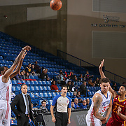 Delaware 87ers Guard JORDAN MCRAE (4) takes a jump shot in the first half of a NBA D-league regular season basketball game between the Delaware 87ers and the Canton Charge Tuesday, JAN, 26, 2016 at The Bob Carpenter Sports Convocation Center in Newark, DEL.<br /> <br /> Delaware 87ers guard Jordan McRae broke the NBA minor league&rsquo;s single-game scoring record going 21-34 finishing with 61 points in a 130-123 overtime win over the Canton Charge.