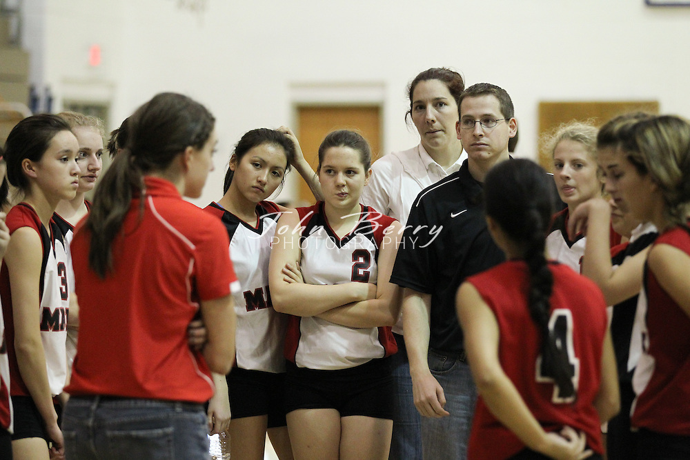 October/19/10:  MCHS JV Volleyball vs George Mason, Madison defeated Mason 2-1.