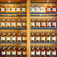 Whisky archives at the Yamazaki Distillery in Yamazaki, Osaka Prefecture, Japan, November 6, 2015. Gary He/DRAMBOX MEDIA LIBRARY