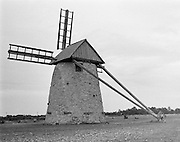 Väderkvarn på Storsudret, Gotland.