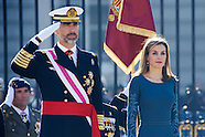 010615 Spanish Royals Celebrate New Year's Military Parade 2015