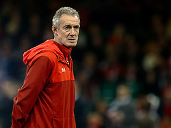Attack Coach Rob Howley of Wales<br /> <br /> Photographer Simon King/Replay Images<br /> <br /> Under Armour Series - Wales v Tonga - Saturday 17th November 2018 - Principality Stadium - Cardiff<br /> <br /> World Copyright © Replay Images . All rights reserved. info@replayimages.co.uk - http://replayimages.co.uk