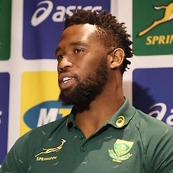 16,11,2018 Springbok Captain's Media conference
